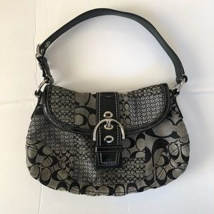Coach Signature Soho Patchwork Hobo Bag